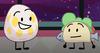 Eggy and Taco (BFDI Among Us Christmas)