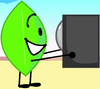 Announcer and Leafy (BFB 28)