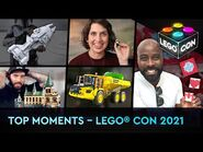 Top 5 Moments from the epic live show! - LEGO® CON 2021