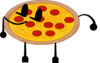 Pizza's Pose