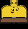 Golden Service Bell (Pose)