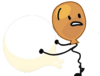 Balloony holding Liar Ball