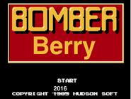 Bomberberry Title Screen