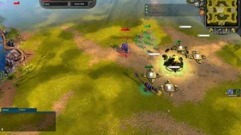 Battleforge example of kiting