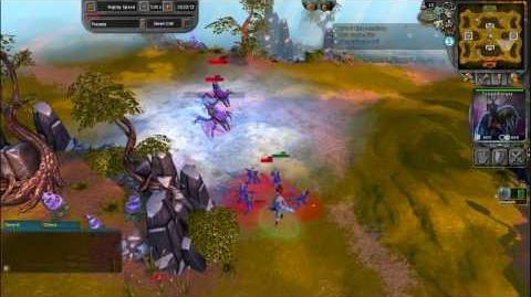BattleForge Commentary Praseee Vs Emtec on Elyon part 1