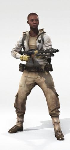 Human 1 Tatooine Bald