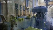 Naboo Concept Art - Hanger - Joseph McLamb