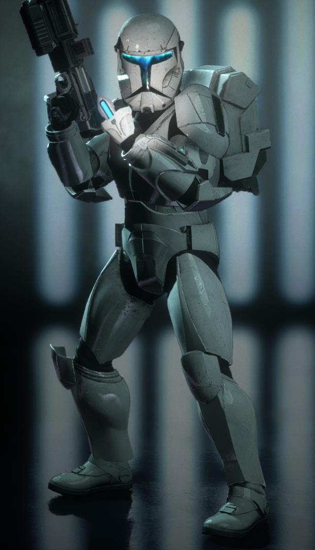 Default Appearance (Clone Commando)