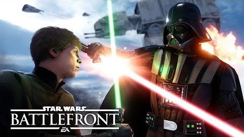 Star Wars Battlefront Видео игрового процесса E3 2015