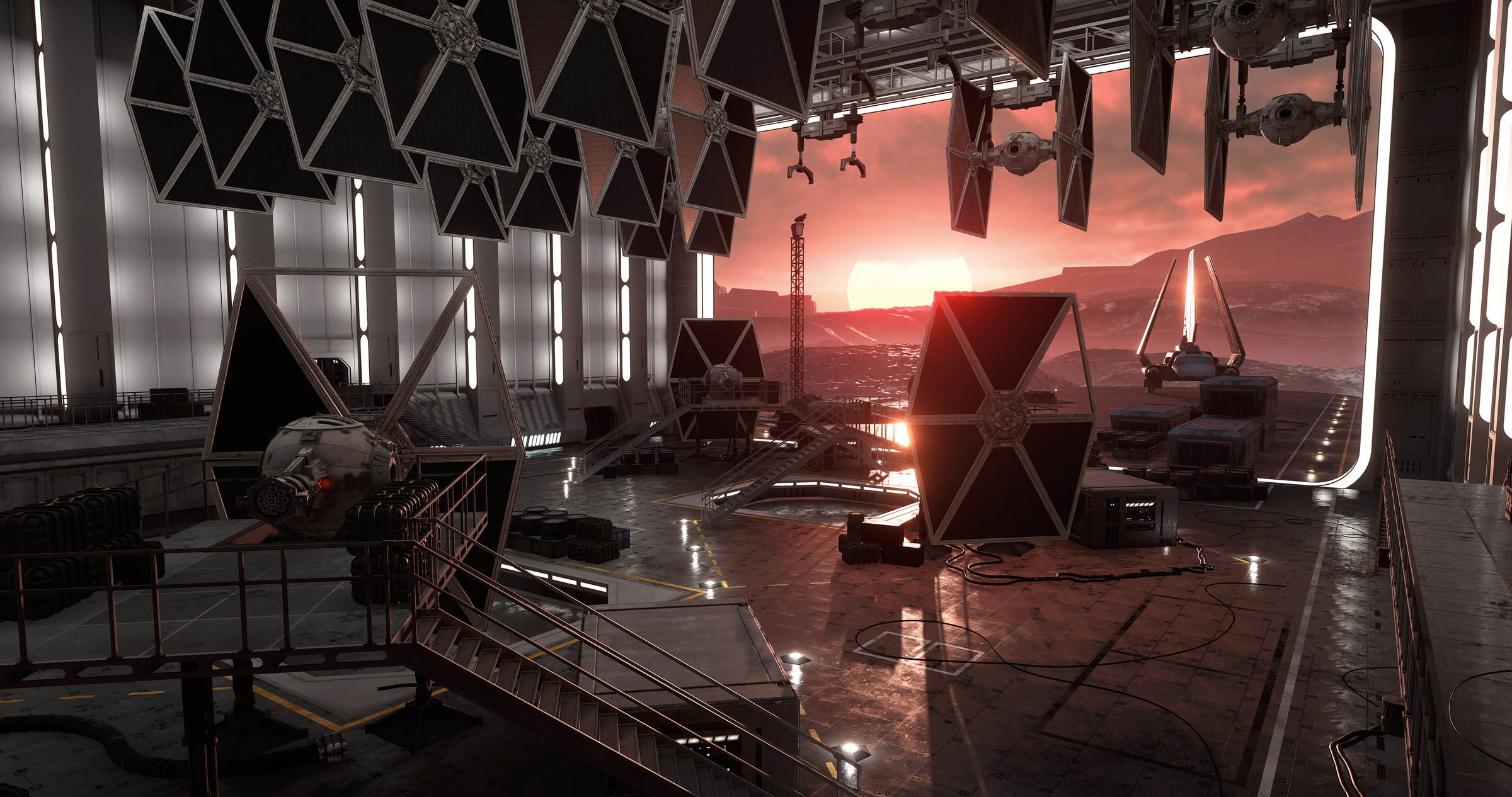 Sullust: Imperial Hangar