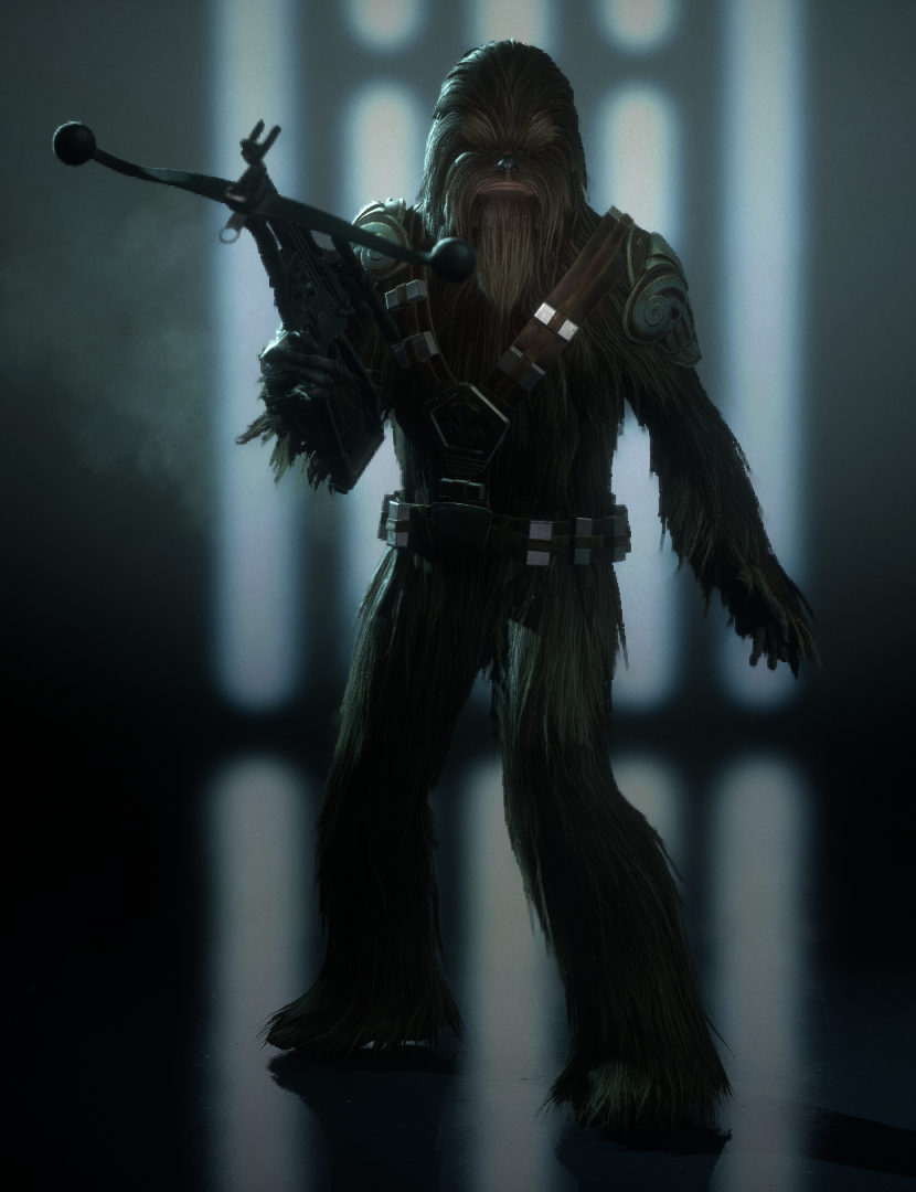 Legacy Appearance (Wookiee Warrior)