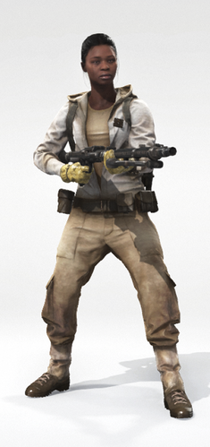 Human 1 Tatooine Ponytail