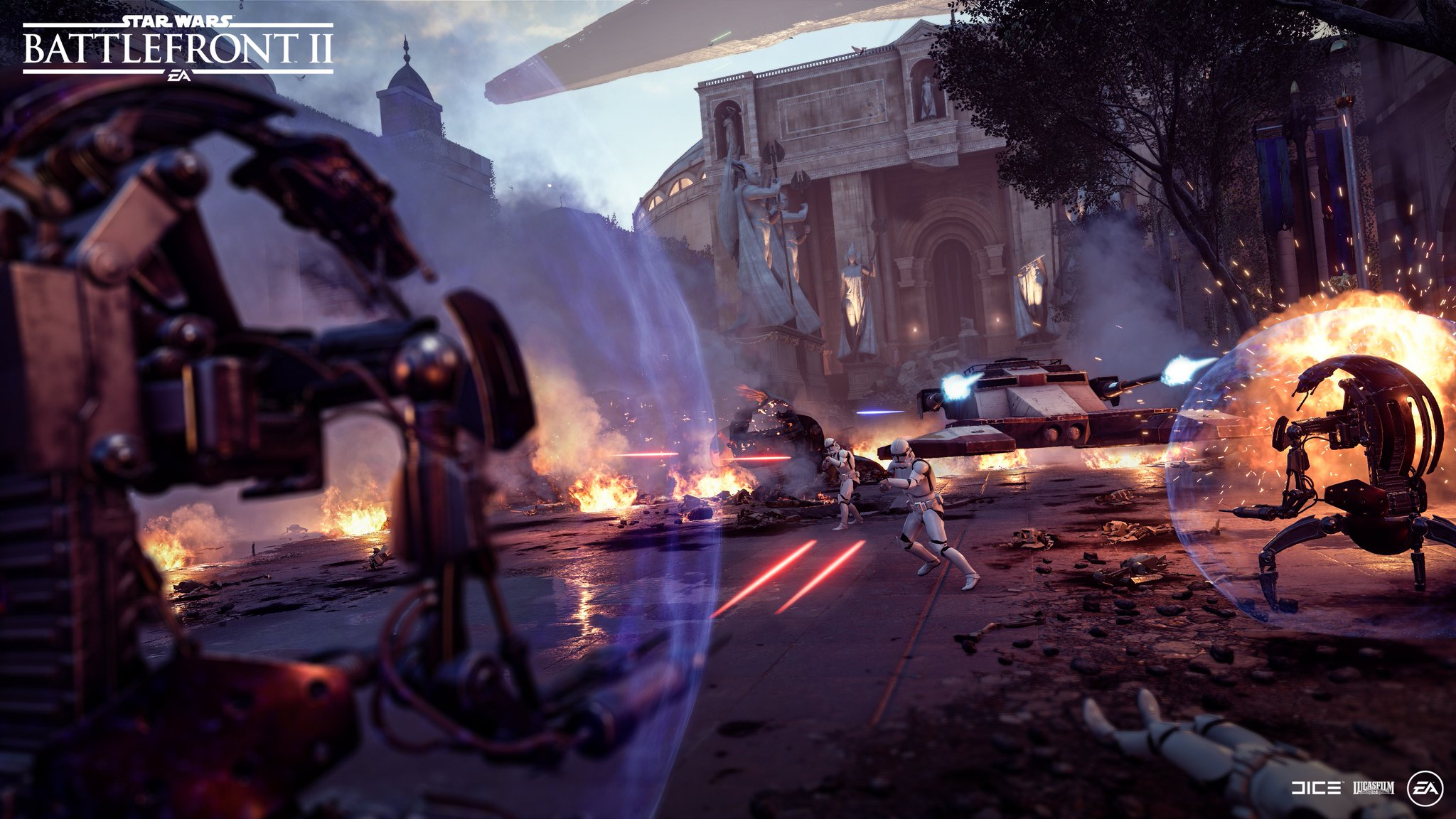 Where are those Droidekas Update
