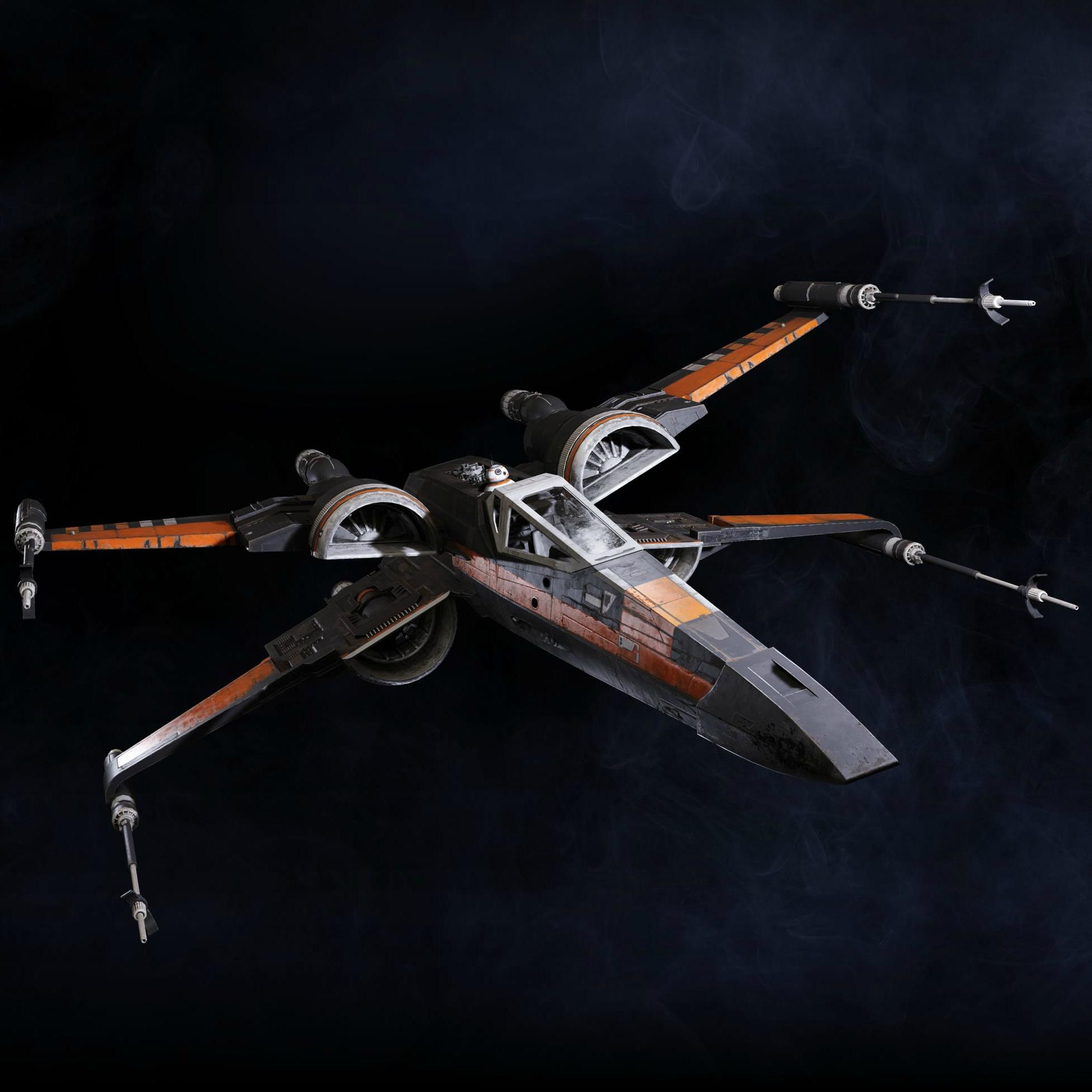 Poe Dameron's T-70 X-Wing