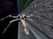 X-wing coming in