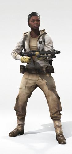 Human 1 Tatooine Bob Cut