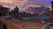 Naboo Concept Art - Bridge - Anton Grandert