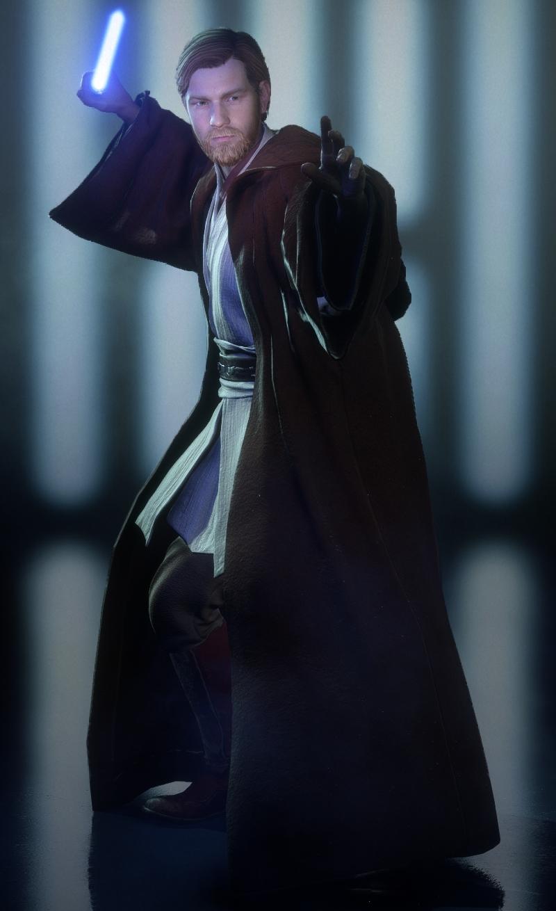 Jedi Robes (Obi-Wan Kenobi Appearance)