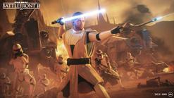 General Kenobi on Geonosis - Battlefront II