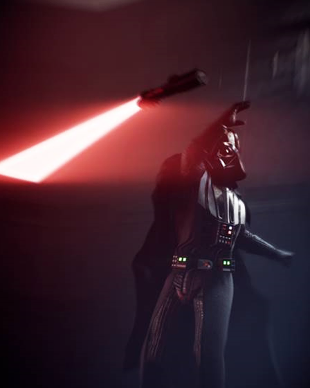 Intensified Lightsaber Throw