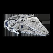 Lando and L3-37's Millennium Falcon