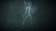 Commando Droid Back