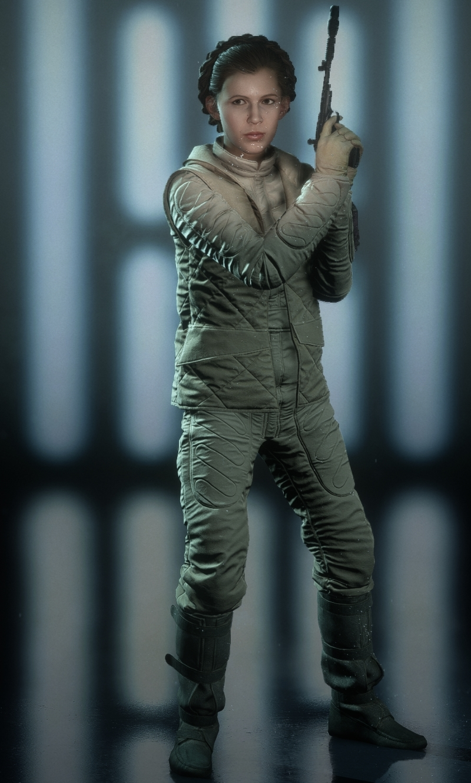 Hoth (Leia Organa Appearance)