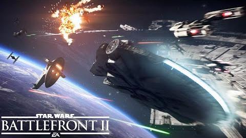 Star Wars Battlefront 2 Official Starfighter Assault Gameplay Trailer-0