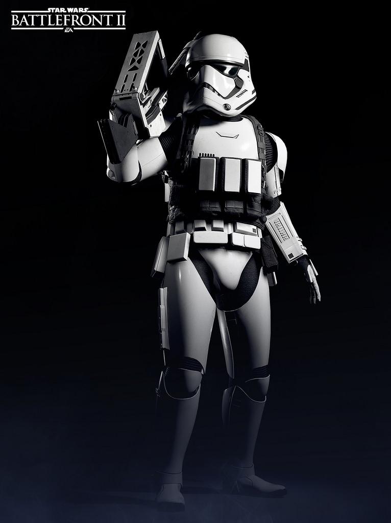 First Order Heavy Assault Stormtrooper