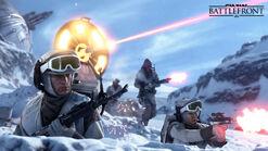 Battlefront сражение перестрелка