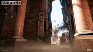 Naboo Theed - Royal Palace Interior (1) - Mikael Andersson DICE