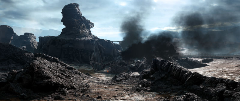 Sullust: Sulfur Fields