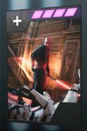SWBFII DICE Boost Card Darth Maul - Savage