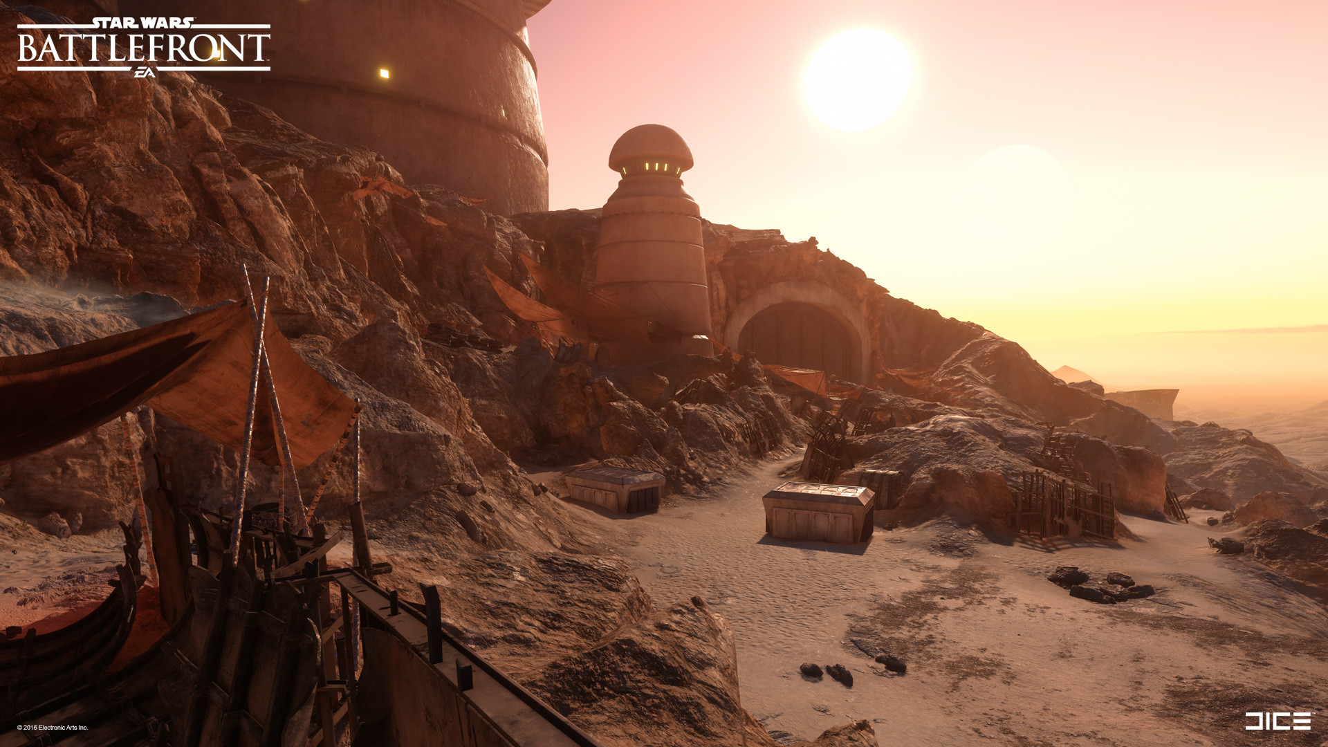 Tatooine: Palace Garage