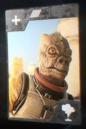 SWBFII DICE Boost Card Bossk - Name Your Poison