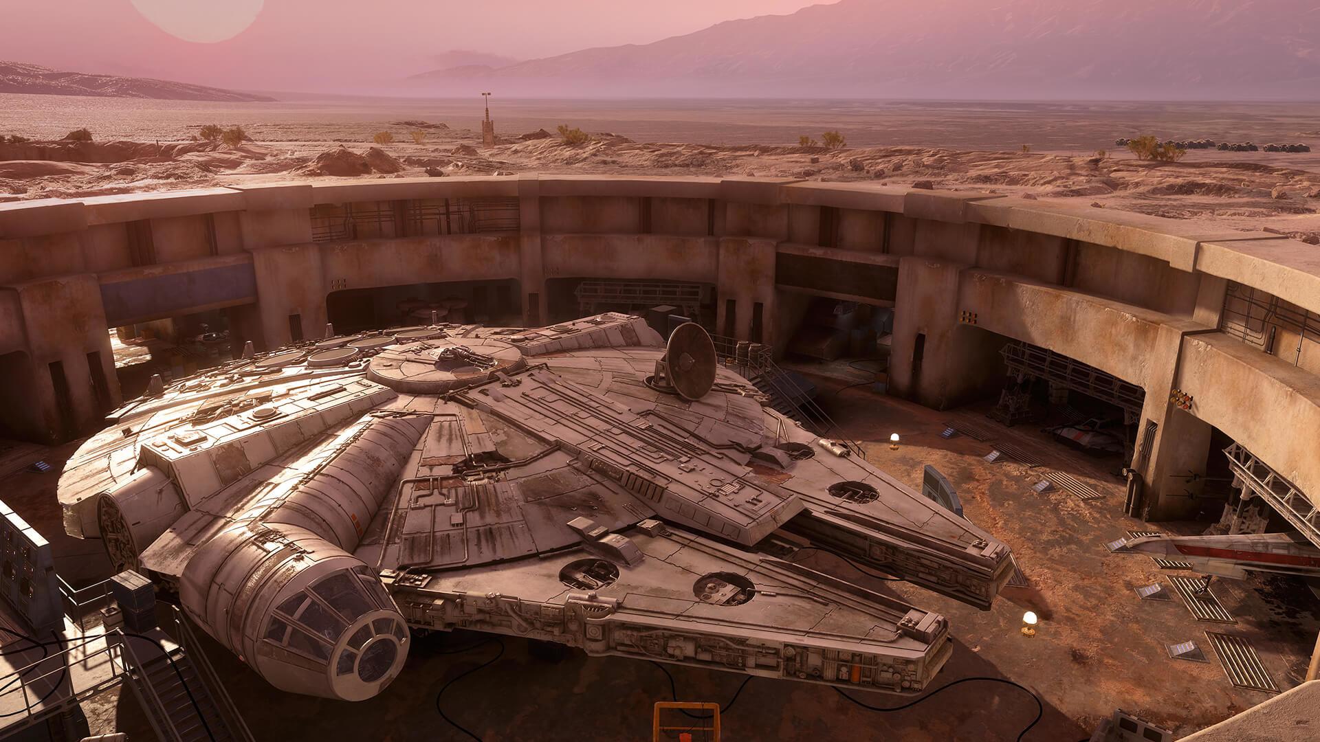 Tatooine: Rebel Depot