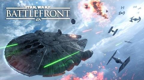 Star Wars Battlefront Трейлер режима «Эскадра» Gamescom 2015
