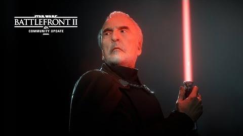 Star Wars Battlefront II Community Update – Count Dooku