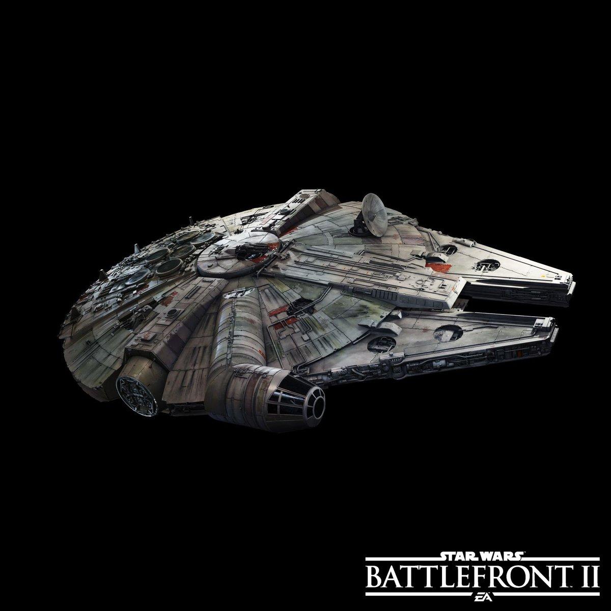 Han Solo and Chewbacca's Millennium Falcon