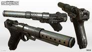 A180 Blaster Pistol 2 - Sebastian Kim