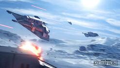 Battlefront воздушный бой
