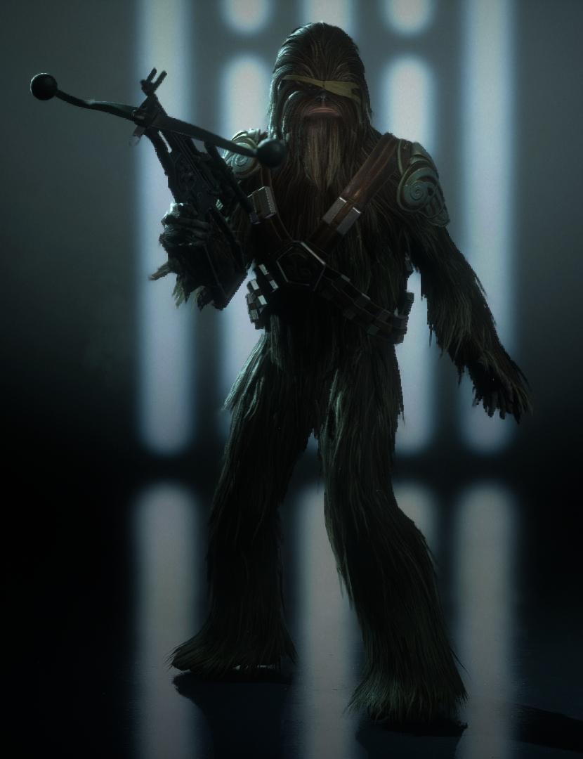 Default Appearance (Wookiee Warrior)