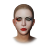Icon appearance Makeup Harley Quinn's Makeup.png