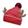 Icon equipment Head Festive Beanie with Pom Pom.png