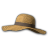Icon Head Straw Beach Hat.png