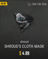Shroud's Cloth Mask skin Store image.png