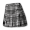 Icon Legs Plaid Skirt (Flannel Gray).png
