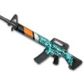 Weapon skin Turquoise Delight M16A4.png