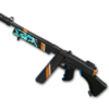 Weapon skin Turquoise Delight Tommy Gun.png