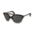 Icon Eyes Gold Trim Cat Eye Sunglasses.png